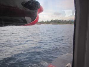 水上飛行機から見たアンガガ