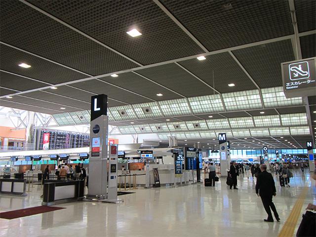 成田空港内