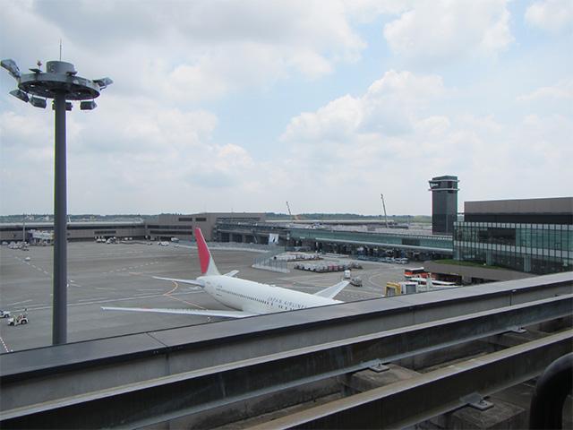 成田空港の展望