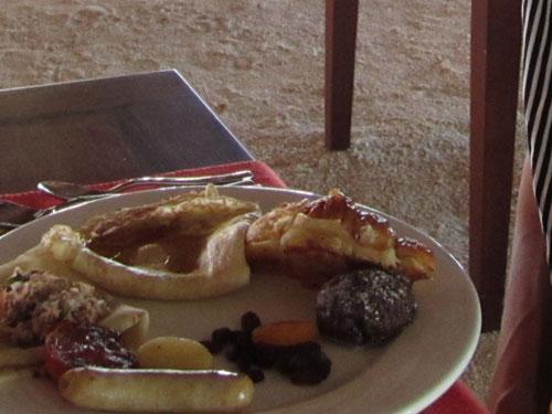 ヴィラメンドゥの朝ご飯