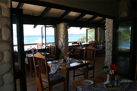 フィジー マタマノアのレストラン