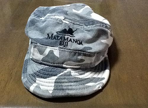 マタマノアで買った帽子