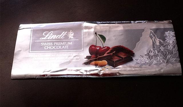 モルディブフルレ空港内のチョコレート
